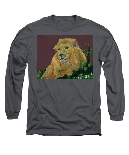 The Mighty King Long Sleeve T-Shirt