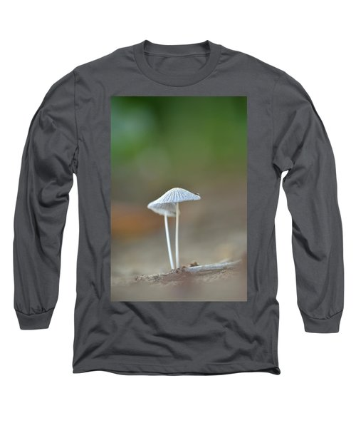 The Mushrooms Long Sleeve T-Shirt by JD Grimes