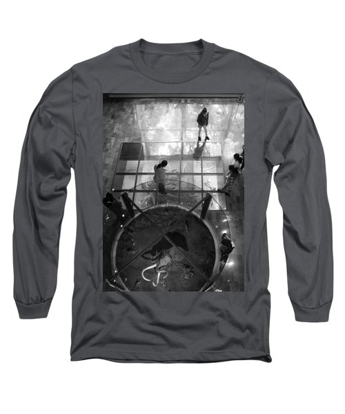 Long Sleeve T-Shirt featuring the photograph The Oculus by Lynn Palmer