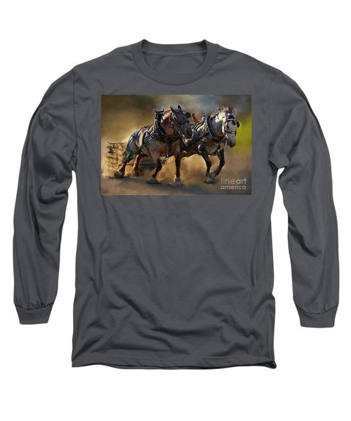 Long Sleeve T-Shirt featuring the photograph The Power Of Two by Davandra Cribbie