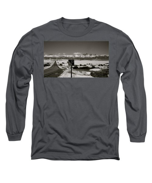 Long Sleeve T-Shirt featuring the photograph The Road Home by Eric Tressler