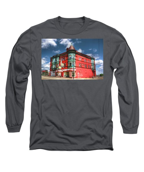 The Sauter Building Long Sleeve T-Shirt by Dan Stone