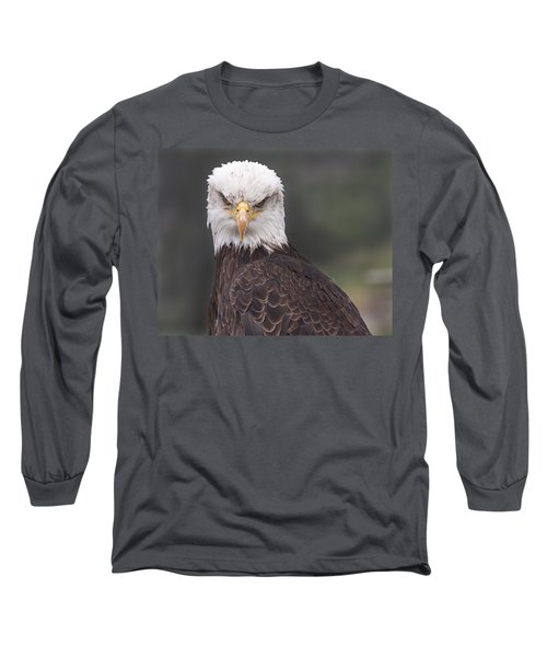 The Stare Long Sleeve T-Shirt by Eunice Gibb