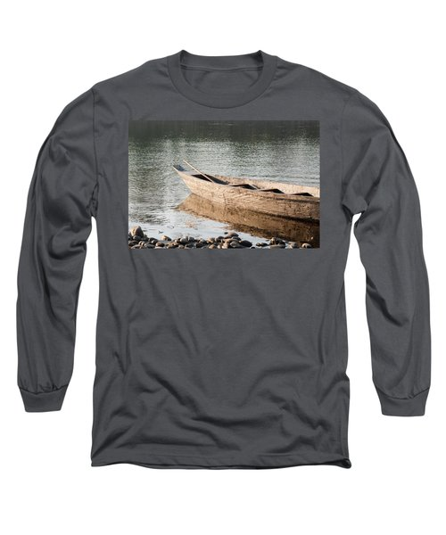 Long Sleeve T-Shirt featuring the photograph The Wait by Fotosas Photography