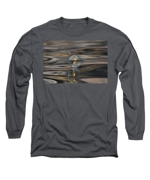 Tiger Water Bubble Long Sleeve T-Shirt