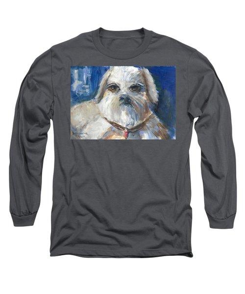 Trouble Long Sleeve T-Shirt by Bernadette Krupa
