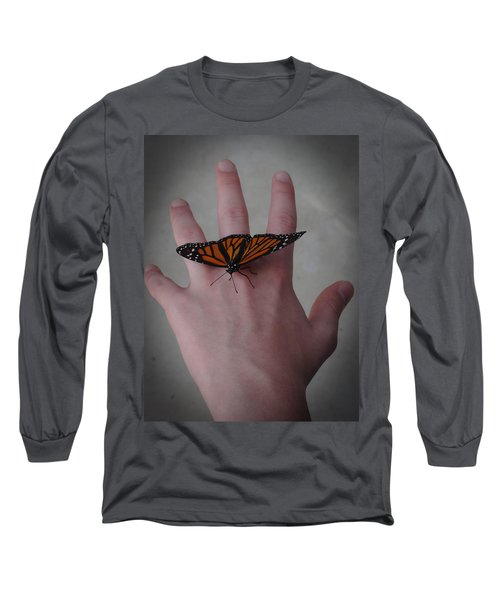 Upon My Hand Long Sleeve T-Shirt by Julia Wilcox