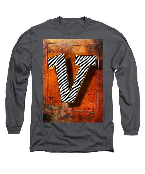 V Long Sleeve T-Shirt