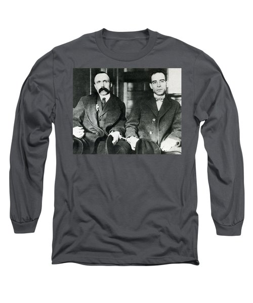 Vanzetti And Sacco Long Sleeve T-Shirt
