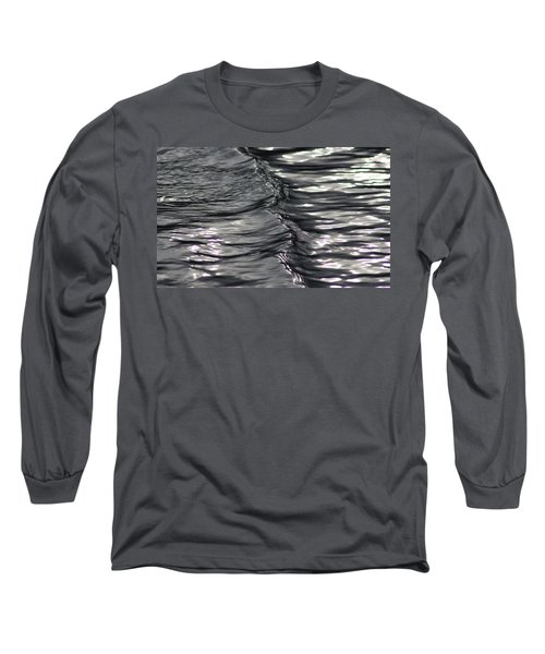 Velvet Ripple Long Sleeve T-Shirt by Cathie Douglas
