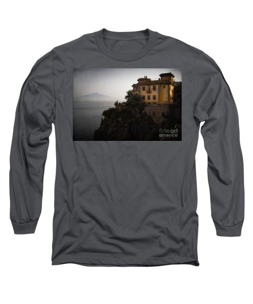Vesuvius From Sorrento Long Sleeve T-Shirt