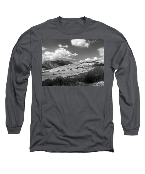 Long Sleeve T-Shirt featuring the photograph View Into The Mountains by Kathleen Grace