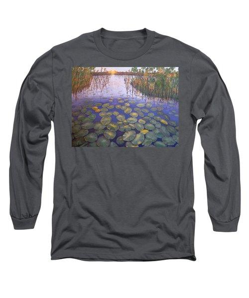 Waterlillies South Africa Long Sleeve T-Shirt