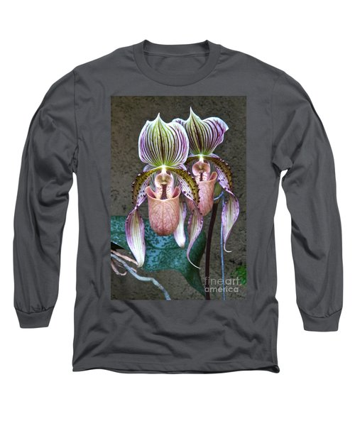 We Are Siamese If You Please Long Sleeve T-Shirt by Byron Varvarigos