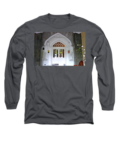 Long Sleeve T-Shirt featuring the photograph Welcome To The Manor by Charlie and Norma Brock