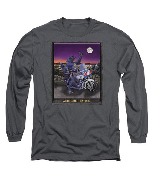 Werewolf Patrol Long Sleeve T-Shirt by Glenn Holbrook