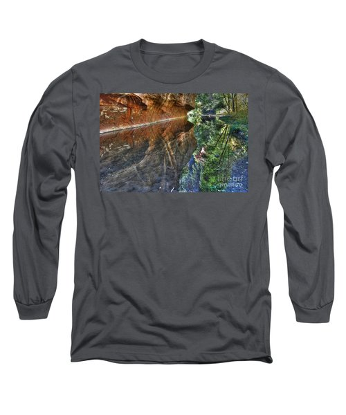 Long Sleeve T-Shirt featuring the photograph West Fork Reflection by Tam Ryan
