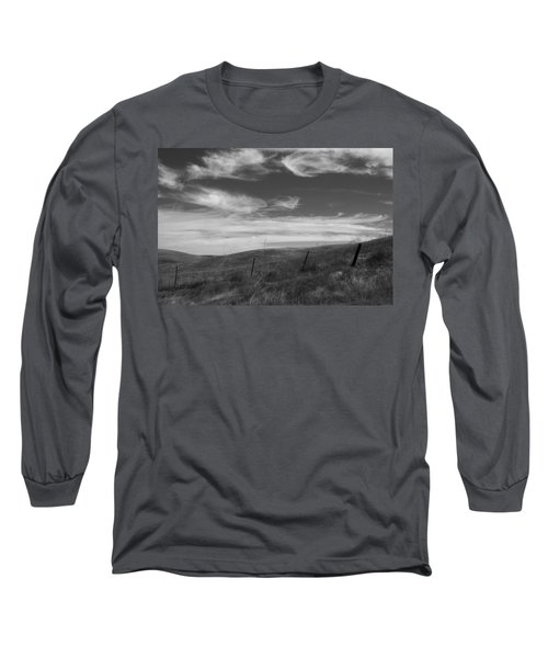 Long Sleeve T-Shirt featuring the photograph Whipping Up The Hillside by Kathleen Grace