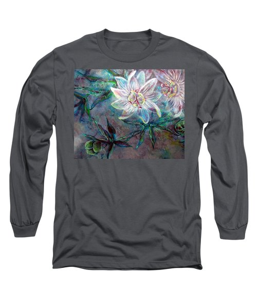 White Passion Long Sleeve T-Shirt