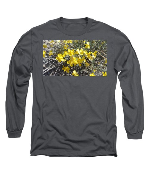 Long Sleeve T-Shirt featuring the photograph Wild Desert Flowers by Kume Bryant