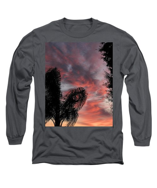Windswept Clouds Long Sleeve T-Shirt