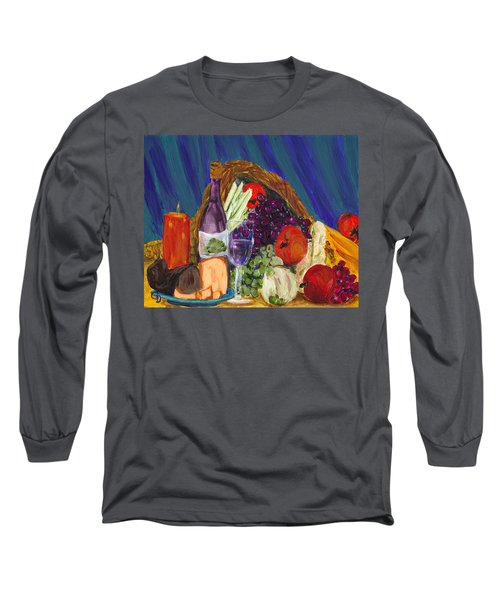 Wine Cornucopia Long Sleeve T-Shirt