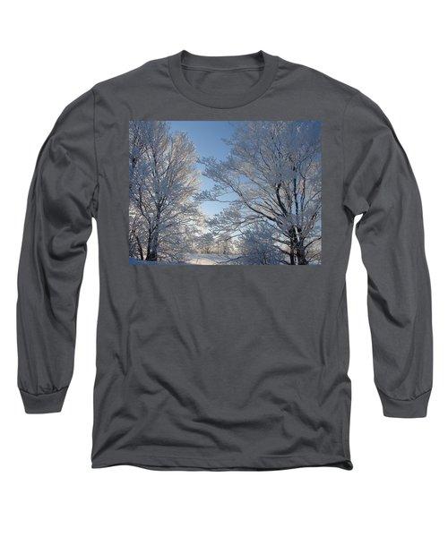 Winter Ice Long Sleeve T-Shirt