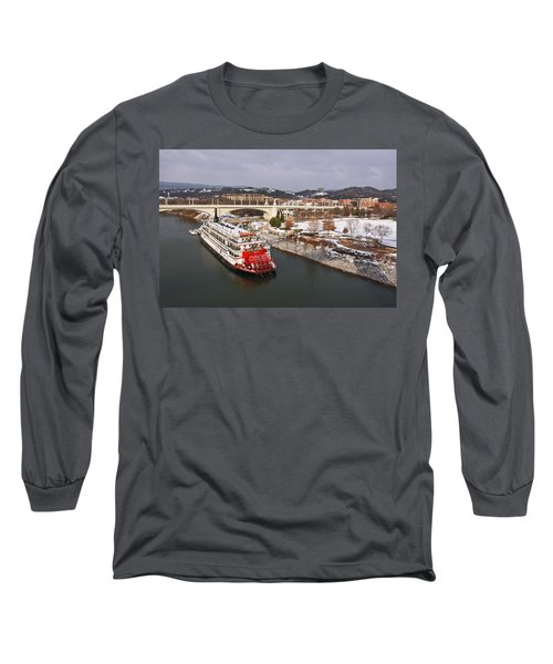 Winter In Coolidge Park Long Sleeve T-Shirt