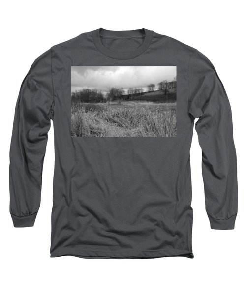 Long Sleeve T-Shirt featuring the photograph Winters Breeze by Kathleen Grace