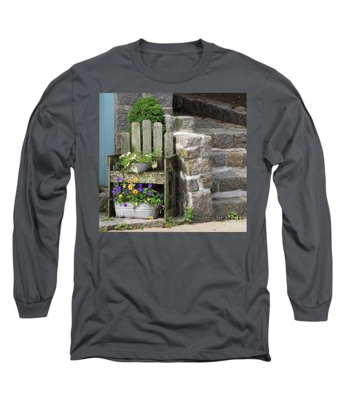 Wood And Granite Long Sleeve T-Shirt