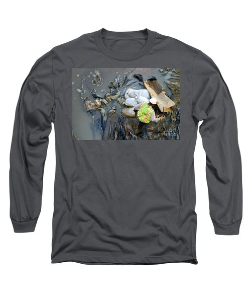 Working The Mud Long Sleeve T-Shirt