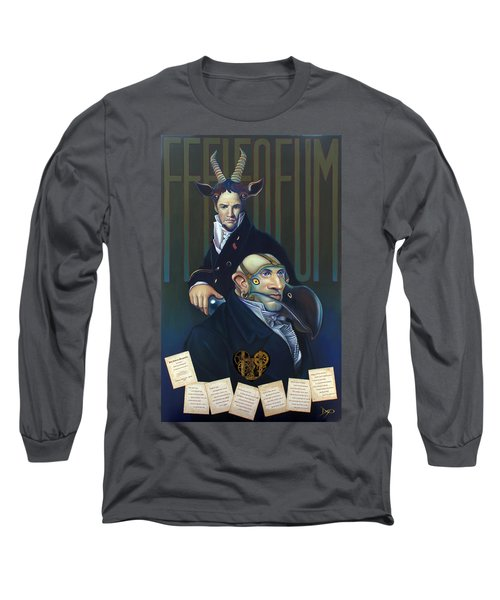 Yak Andrew Bienstjalk Long Sleeve T-Shirt by Patrick Anthony Pierson