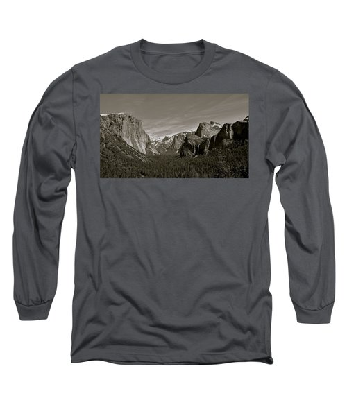 Long Sleeve T-Shirt featuring the photograph Yosemite Valley by Eric Tressler