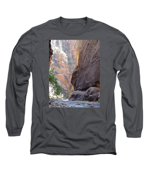 Long Sleeve T-Shirt featuring the photograph Zion Awe by Elizabeth Sullivan