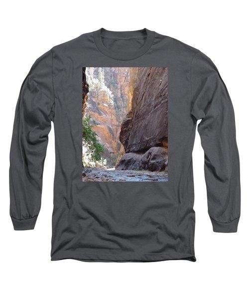 Zion Awe Long Sleeve T-Shirt by Elizabeth Sullivan