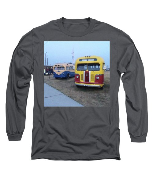 Retro Bus Long Sleeve T-Shirt