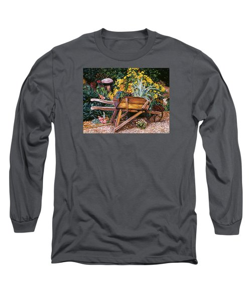 A Gardener's Helper Long Sleeve T-Shirt