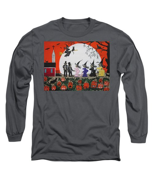 A Halloween Wedding Long Sleeve T-Shirt