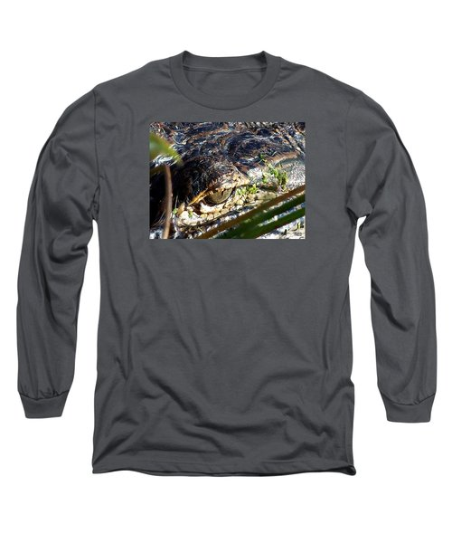 Alligator Eye  Long Sleeve T-Shirt