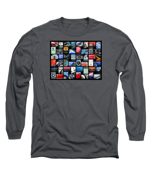 Bmw Art -01 Long Sleeve T-Shirt by Jill Reger