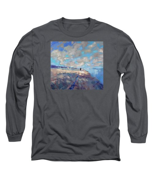 Eternal Wanderers Long Sleeve T-Shirt by Anastasija Kraineva