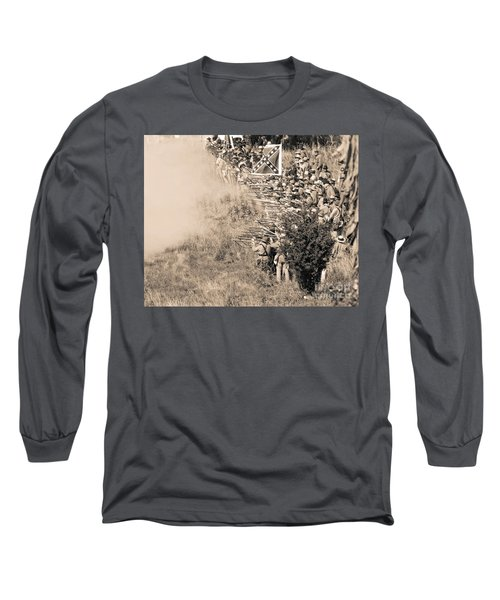 Gettysburg Confederate Infantry 8769s Long Sleeve T-Shirt