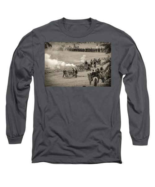 Gettysburg Union Artillery And Infantry 7439s Long Sleeve T-Shirt