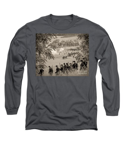 Gettysburg Union Artillery And Infantry 7465s Long Sleeve T-Shirt