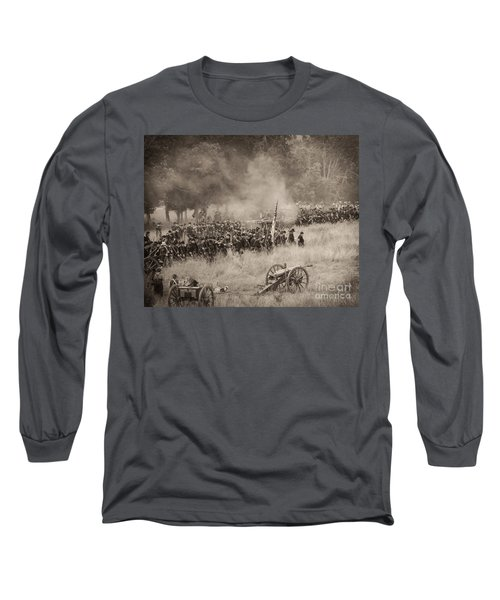 Gettysburg Union Artillery And Infantry 8456s Long Sleeve T-Shirt
