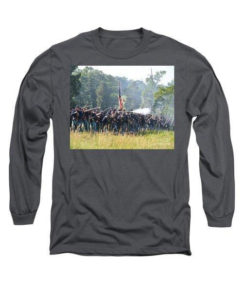 Gettysburg Union Infantry 9372c Long Sleeve T-Shirt