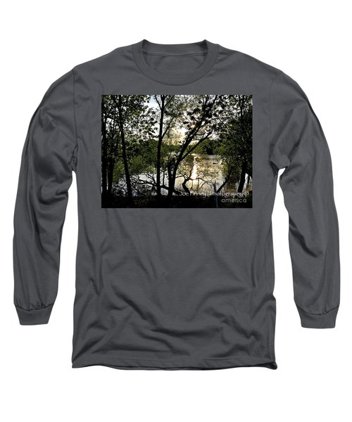 In The Shadows  - No. 430 Long Sleeve T-Shirt