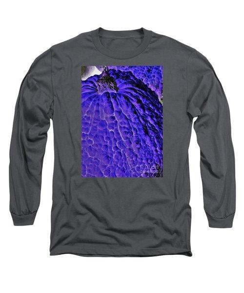 Purple Pumpkin By Jasna Gopic  Long Sleeve T-Shirt