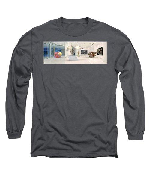 ' Robert Palmer At Large ' Long Sleeve T-Shirt