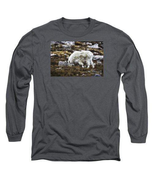 Rocky Mountain Goat Long Sleeve T-Shirt